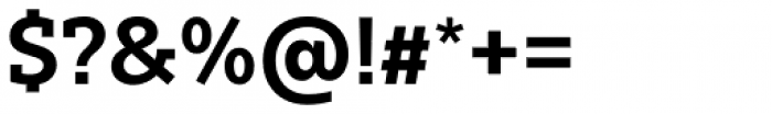 Bw Glenn Slab Bold Font OTHER CHARS