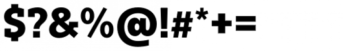 Bw Glenn Slab Extra Bold Font OTHER CHARS