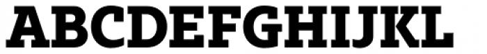 Bw Glenn Slab Extra Bold Font UPPERCASE