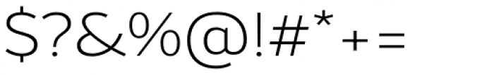 Bw Helder W3 Light Font OTHER CHARS