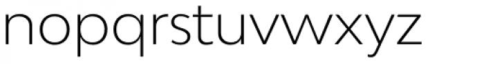 Bw Modelica Light Font LOWERCASE