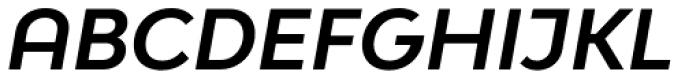 Bw Modelica SS01 Bold Italic Font UPPERCASE