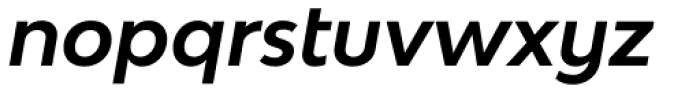 Bw Modelica SS01 Bold Italic Font LOWERCASE