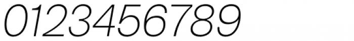 Bw Nista Geometric Thin Italic Font OTHER CHARS