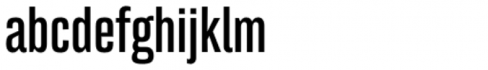 Bw Stretch Bold Font LOWERCASE