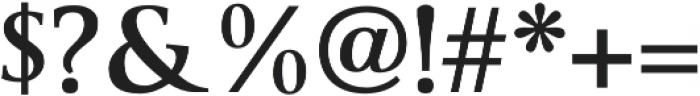 Byington Bold otf (700) Font OTHER CHARS