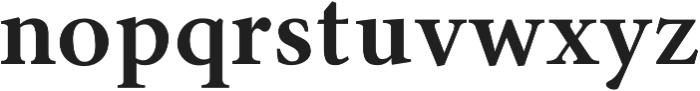 Byington Bold otf (700) Font LOWERCASE