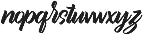 Bythemis Quertas otf (400) Font LOWERCASE