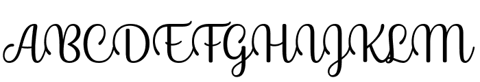 Byby Font UPPERCASE