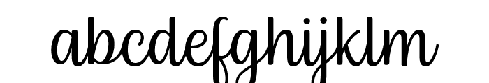 Byby Font LOWERCASE