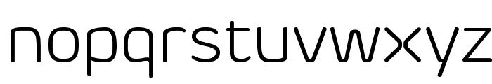Byom Light Font LOWERCASE
