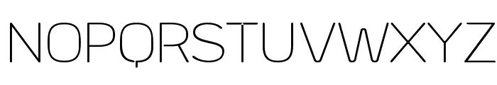 Byom Thin Font UPPERCASE