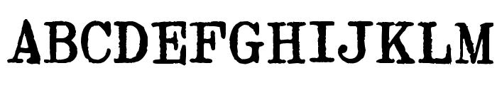 Byron Mark II Font UPPERCASE