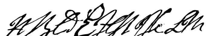 Byron Font UPPERCASE
