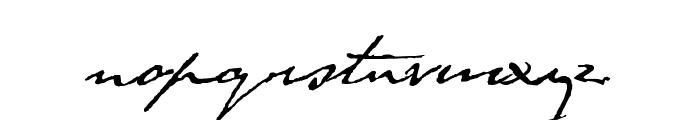 Byron Font LOWERCASE