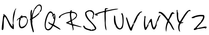 Byrow Font UPPERCASE