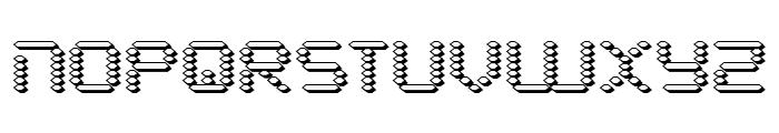Byte Police 3D Font UPPERCASE