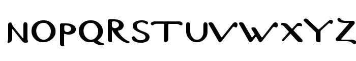 Byzantine-Normal Font LOWERCASE