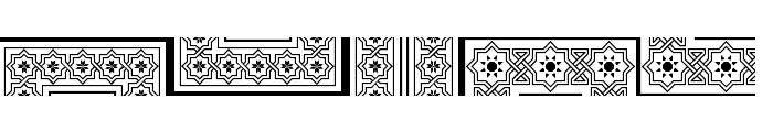 Byzantium Font UPPERCASE