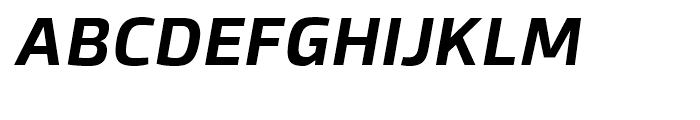 Byker Bold Italic Font UPPERCASE