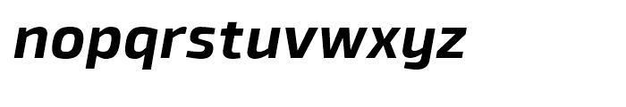 Byker Bold Italic Font LOWERCASE