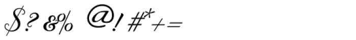 Byron RR Swash Medium Regular Font OTHER CHARS