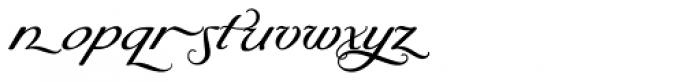 Byron RR Swash Medium Regular Font LOWERCASE