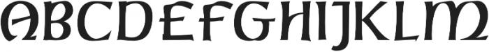 C&lc Uncial Pro Regular otf (400) Font UPPERCASE
