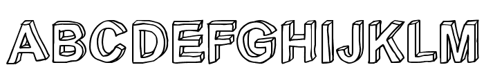 C rial Font UPPERCASE