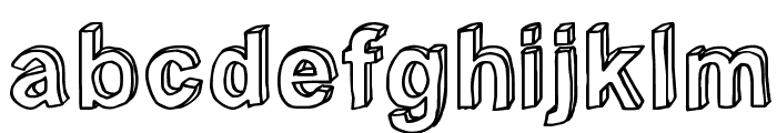 C rial Font LOWERCASE