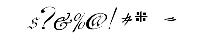 C?ntgen Kanzley Font OTHER CHARS