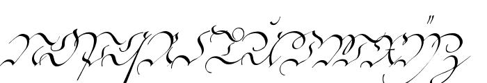 C?ntgen Kanzley Font UPPERCASE