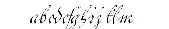 C?ntgen Kanzley Font LOWERCASE