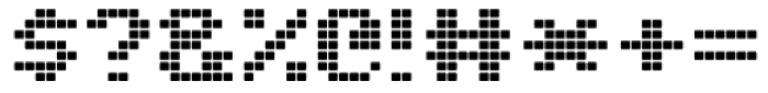 C64 Font OTHER CHARS
