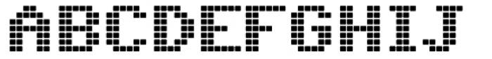 C64 Font UPPERCASE