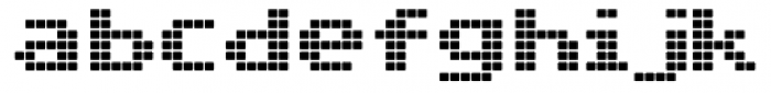 C64 Font LOWERCASE