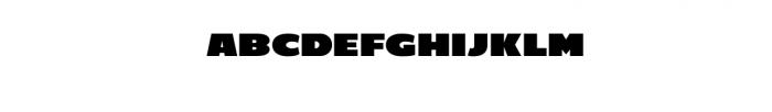 C800 Extended.ttf Font LOWERCASE