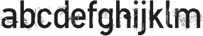 CA BNDTrash Regular otf (400) Font LOWERCASE
