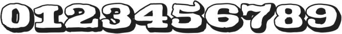 CA Coronado Shadow otf (400) Font OTHER CHARS