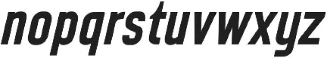 CA Geheimagent Bold Italic otf (700) Font LOWERCASE