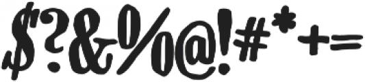 CA Rusty Nail Bold otf (700) Font OTHER CHARS