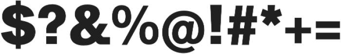 CA SaygonText Extrabold otf (700) Font OTHER CHARS