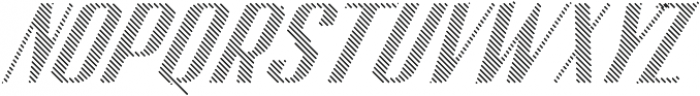 CA SpyRoyal Line Bold otf (700) Font UPPERCASE