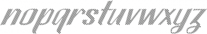 CA SpyRoyal Line Bold otf (700) Font LOWERCASE