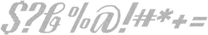 CA SpyRoyal Line otf (400) Font OTHER CHARS