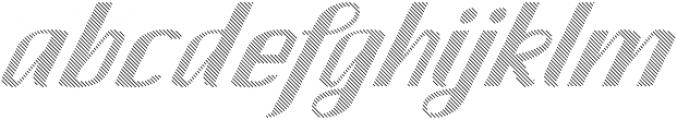 CA SpyRoyal Line otf (400) Font LOWERCASE