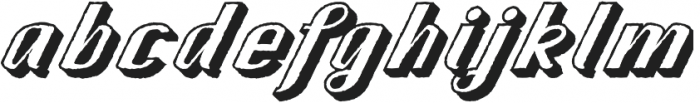 CA SpyRoyal ShadowRaw otf (400) Font LOWERCASE