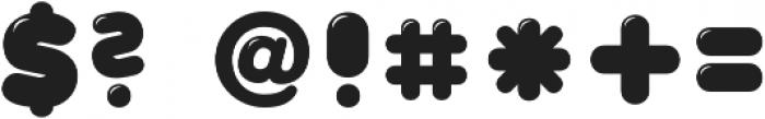 CA WolkenfluffGloss Regular otf (400) Font OTHER CHARS