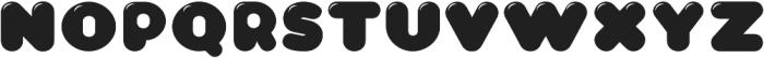 CA WolkenfluffGloss Regular otf (400) Font LOWERCASE