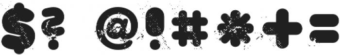 CA WolkenfluffTrash Regular otf (400) Font OTHER CHARS